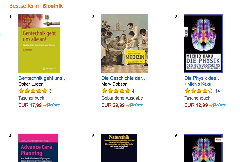 Bestseller Bioethik